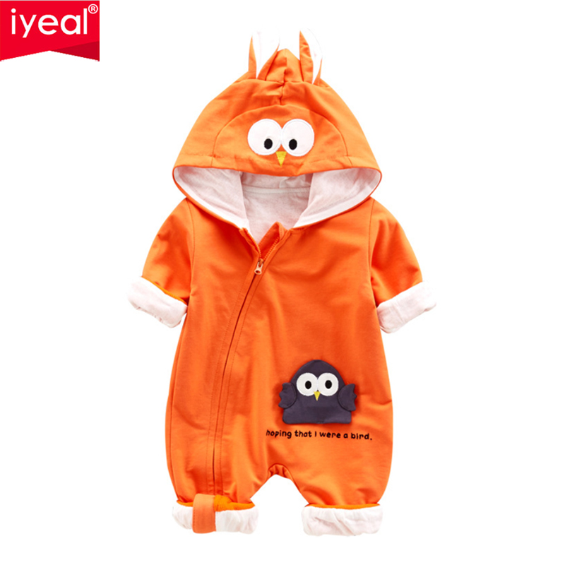 IYEAL Autumn Baby Romper Toddler Boy Clothes Newborn Clothing Cartoon Cotton Baby Girl Clothes Roupas Bebe Infant Baby Jumpsuits
