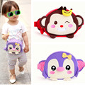 2017 Child Kid Girls Boys Lovely Cartoon Monkey Penguin Waist Bags Handbag Messenger Shoulder Belt Bag Dib Candy Handbags
