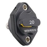 12 V-32 в пост 20A/30A/40A Ампер ручного сброс автоматического выключателя Водонепроницаемый предохранитель инвертора для Автомобили, грузовики т...