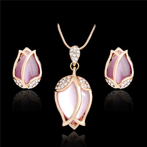 SHUANGR Bridal Jewelry Sets Pa