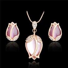 SHUANGR Bridal Jewelry Sets Parure Bijou