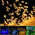 12M 100LED Solar Garden decoration Lights 8 Modes Solar Fairy Garland String Light Outdoor For Home Wedding Christmas Waterproof