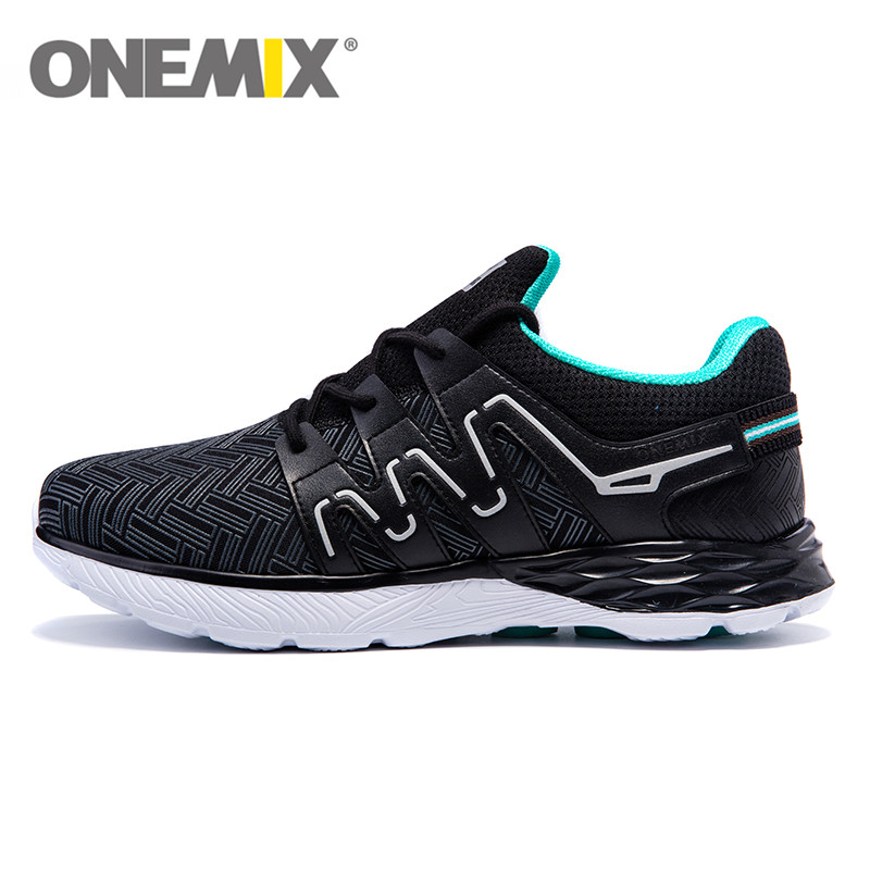 2017 onemix men Light Running Shoes Massage Soles Sneakers Atheletic Trainer Outdoor Walking men