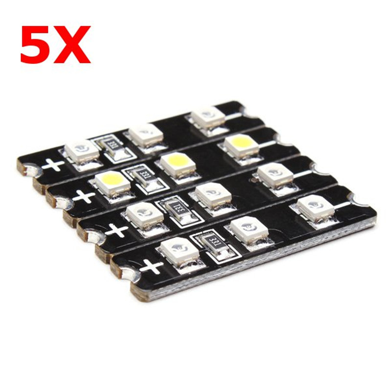 5PCS Diatone 3-4S LED Decoration Board Strip Set For 250 Class Frame For RC Camera Drone Accessories halloween plastic skeleton frame hanging decoration silver black 4 pcs