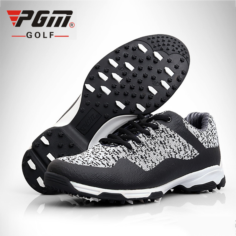 PGM 3D gas guide groove Patent Design Golf Shoes Men's Breat