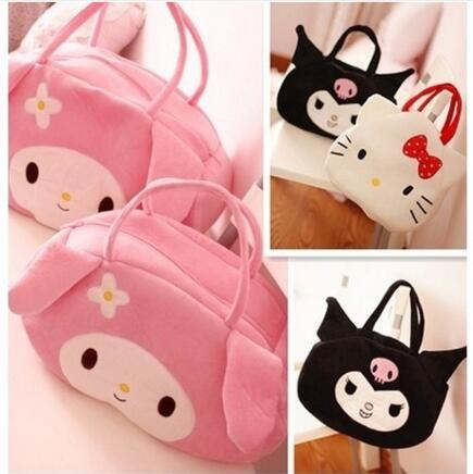 Free Shipping fashion handbag baby infant products nappy bags handbag Large size and small yards Plush cartoon Mummy package #87
