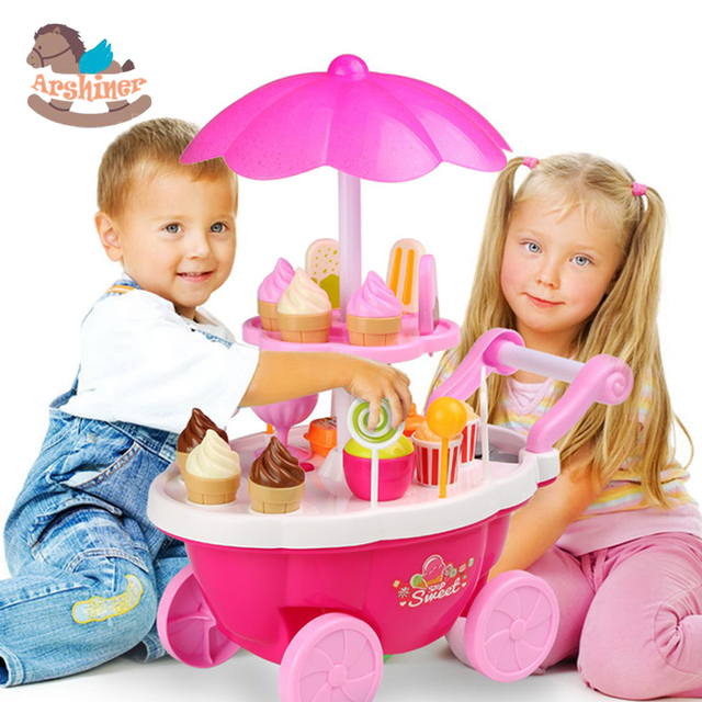 Arshiner Learning Toys Baby Girls Boys Pretend Playing House Cake