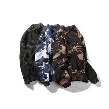 Camo Parka 2017 Male Hooded Jackets Printed Hoody Men Camouflage Jacket Coat Wear Velvet Zipper Hoodies Men Sweatshirts