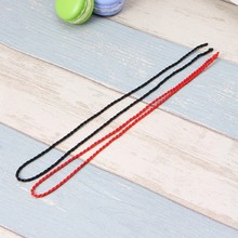 10PCS Red String Kabbalah DIY Necklaces Ethnic Red Rope Lanyard Jewelry Findings(China)