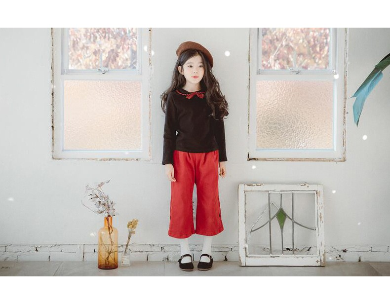 casual solid button kids skirts for girls cotton skirt clothes little big girls long skirts children clothing 2017 spring summer kids skirts clothes (9)