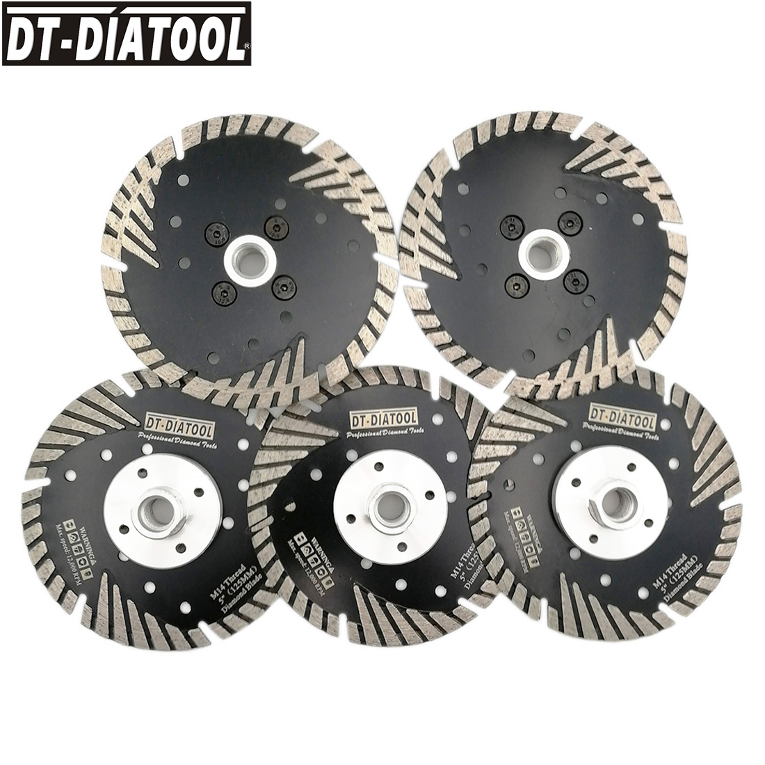 DT-DIATOOL 5pieces 125mm/5
