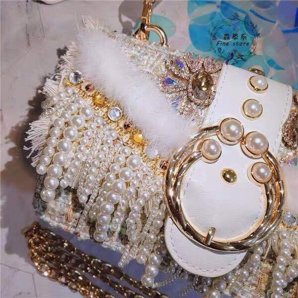Pearl Diamond handbag 2