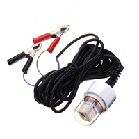 Newest 2835 SMD IP68 Waterproof LED Lamp Bulb 15W 12V Underwater Fishing Squid Fish Lure Lights