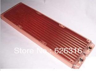 Ke Ruiwo Katyusha 360 full-copper water-cooled radiator exhaust heat exchanger water cooling radiator copper krw katyusha 120mm copper radiator water cooler