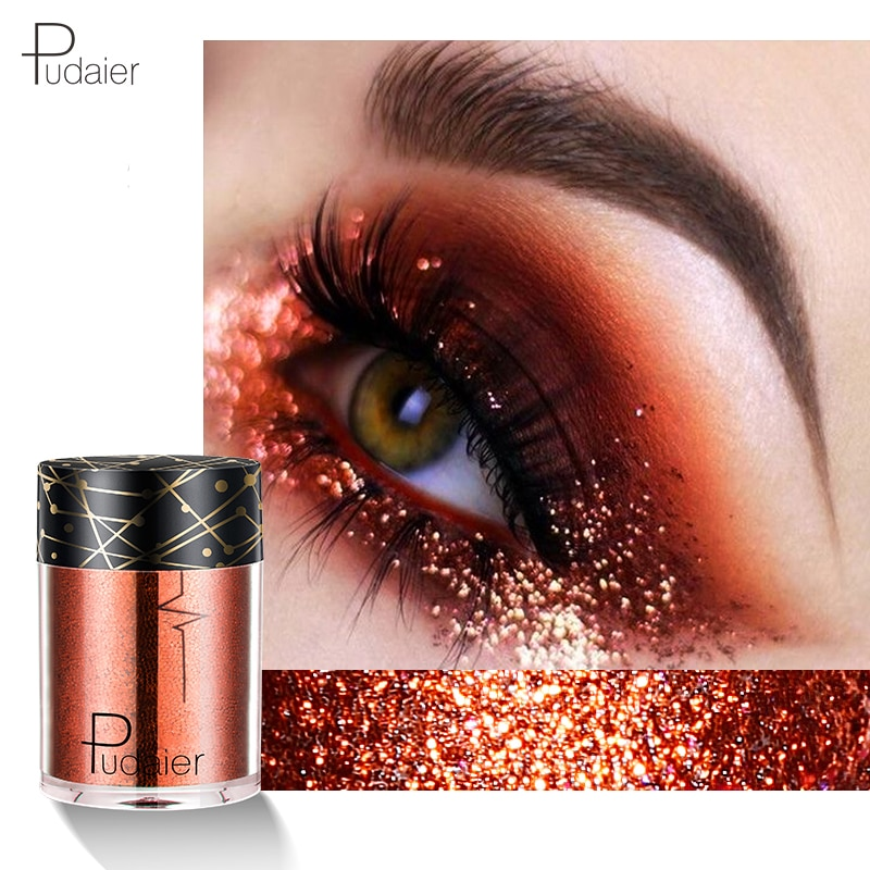 Niceface Hottest Glitter & Shimmer Makeup Women Maquiagem Body Face Glitter Powder Eye Shadow Silver Color Pigment Cosmetics Makeup Body