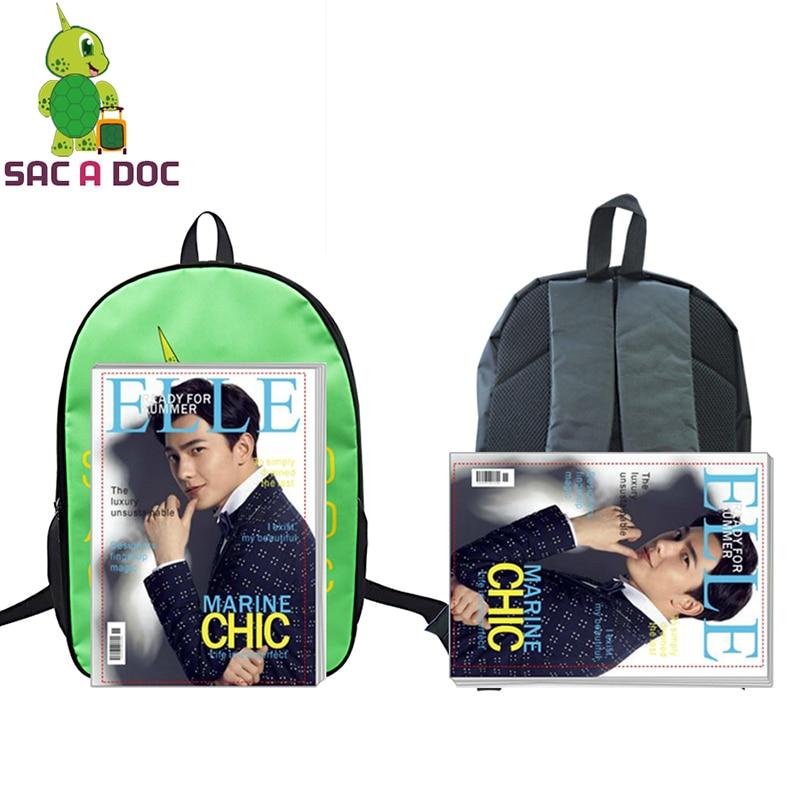 Anime Sailor Moon Printing Backpack Teens Boys Girls Students School Book Bag Womens Mens Laptop Backpack