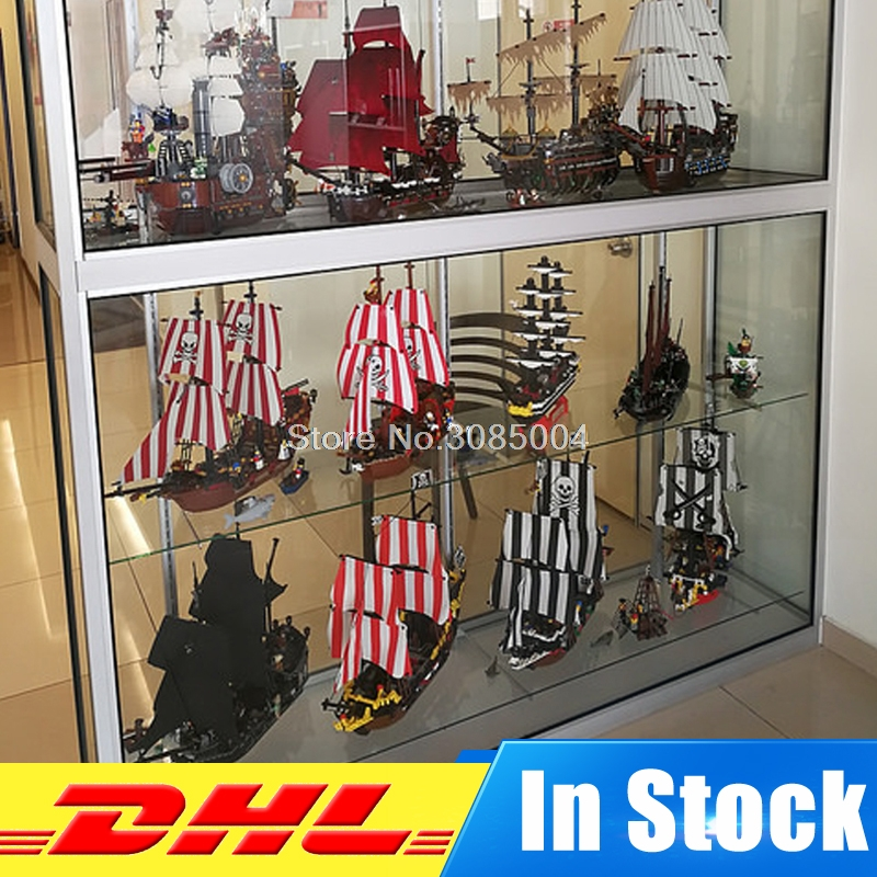 DHL Lepin 16002 16006 16009 16016 16018 16042 16045 22001 Caribbean Movie Series Blocks Bricks Model Building Toys For Children lepin 22001 pirate ship imperial warships model building block briks toys gift 1717pcs compatible legoed 10210