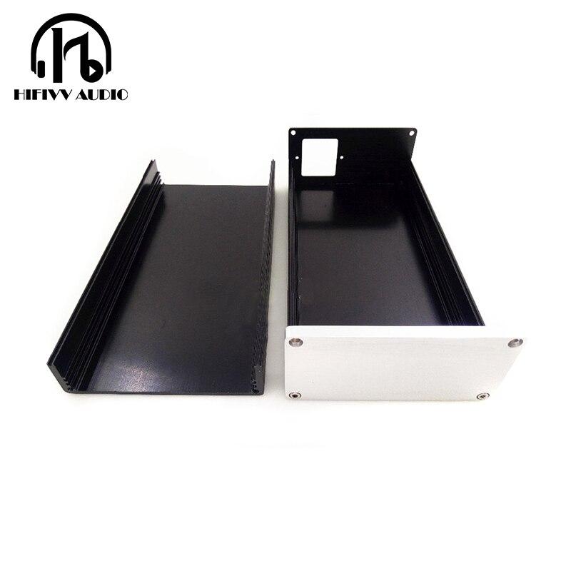 The Best Aluminum Case 1005 Full Aluminum Amplifier Chassis /mini Amp Case/ Preamp Box/ Psu Enclosure 102*50*208mm Home Audio & Video Amplifier