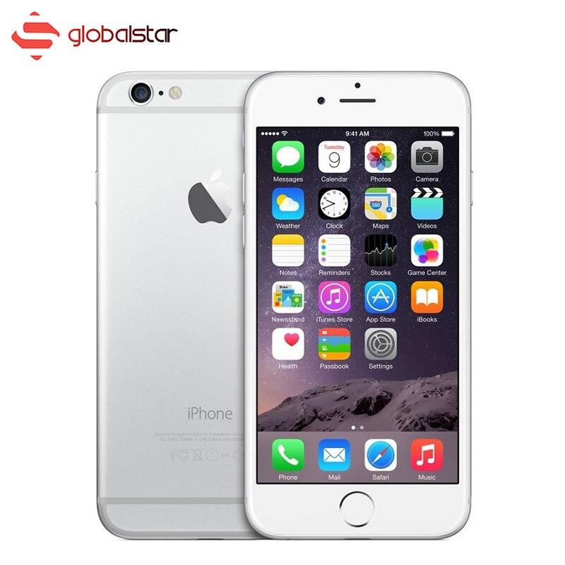 Цена за Нет отпечатков пальцев apple iphone 6 plus dual core смартфон ios 5.5 дюймов 16 ГБ/64 ГБ Мобильный Телефон 8.0MP WIFI GPS 4 Г LTE Сотовый Телефон