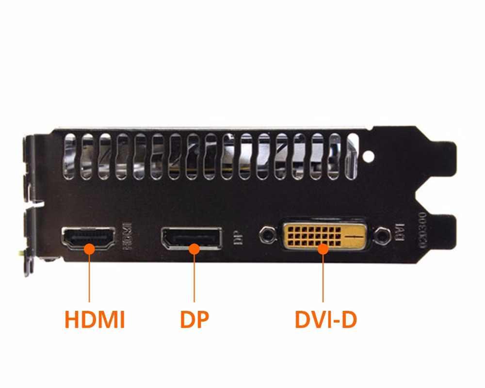 بطاقة جرافيكس PCI-E GTX1050TI 4 GB/4096 MB DDR5 128Bit بلاسا دي فيديو كارت جرافيكي بطاقة فيديو لـ Nvidia