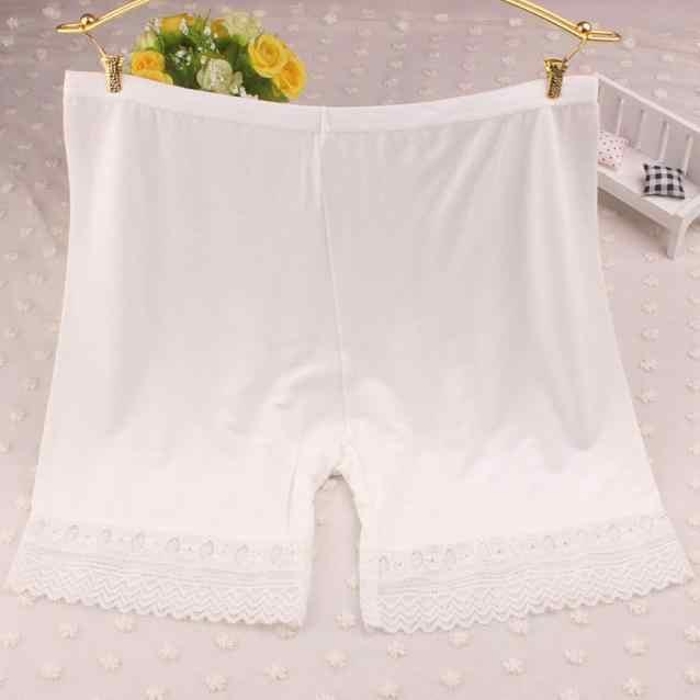 bed2cdae8c18 ... Шорты femme модные боксеры для женщин кружево многоярусные юбки  короткая юбка под Нижнее белье Шорты для ...