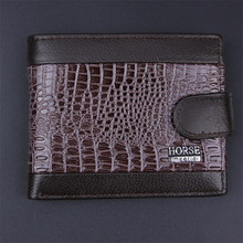 2018 New brand high quality short men's wallet genuine leather qualitty guarantee purse for male coin purse card holder wallet цена