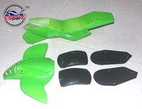 Plastic Fairing Kit Fender Plate Guard Cover for Mini Moto Quad ATV Bike 47cc 49cc