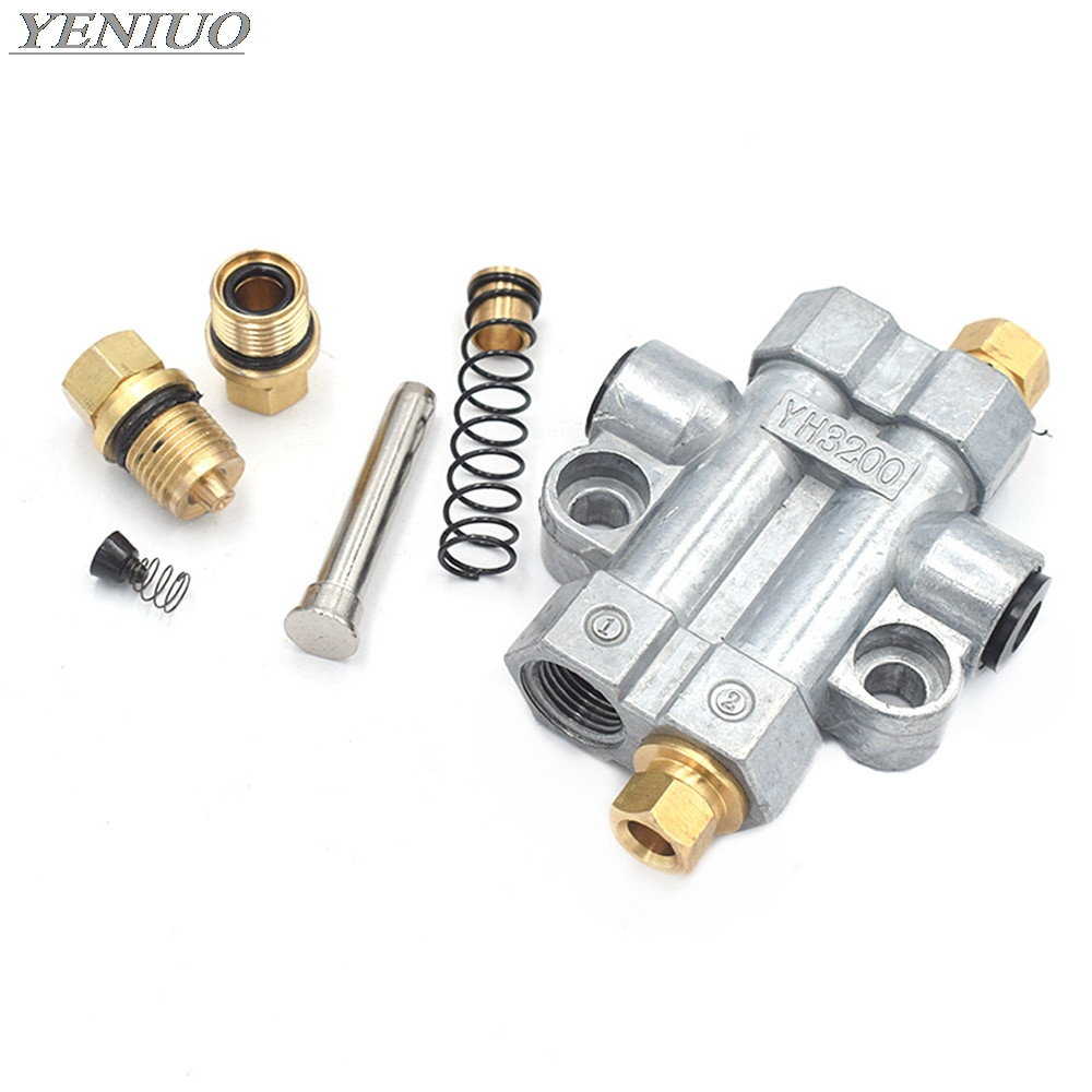 Detective Volumetric Grease Oil Distributor /separator Valve Divider 2 3 4 5 6 Way For  Aluminum Centralized Lubrication System