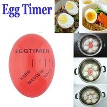 Идеальное цветное яйцо таймер с изменяющимся Yummy мягкие вареные яйца приготовления кухонные приспособления для яиц