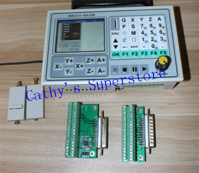 good quality 50KHZ CNC 4 Axis Breakout Board Carving Machine Control System Card Engraving Machine Control