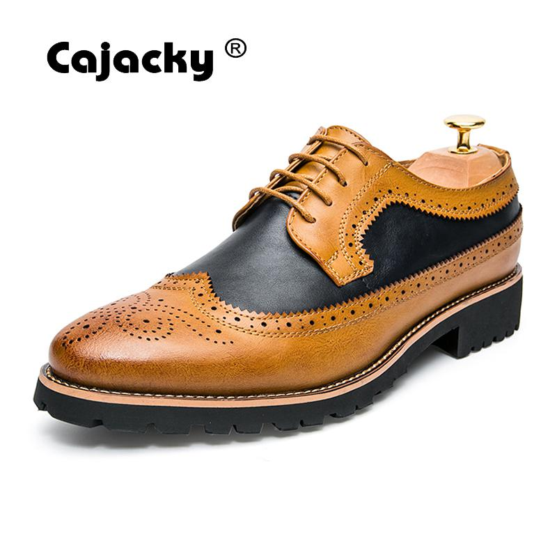 Cajacky England Style Brogue Shoes
