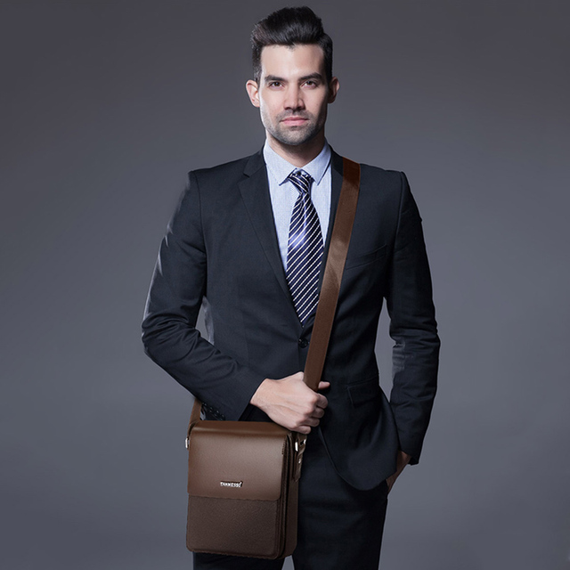 Briefcase Men Business Bag Men Shoulder Messager Bag Men's Crossbody Bags For Men Casual Travel Bags High Quality Male Briefcase