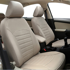 Image 5 - carnong car seat cover leahter custom proper fit for original car seat same structure fully covered protector seat cover auto