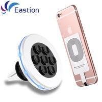 Eastion Wireless-ladegerät Für Samsung Galaxy S6 S7 Rand Adapter Halter Auto Ladegeräte Telefon Gerät Desktop Receiver Für iPhone iPad