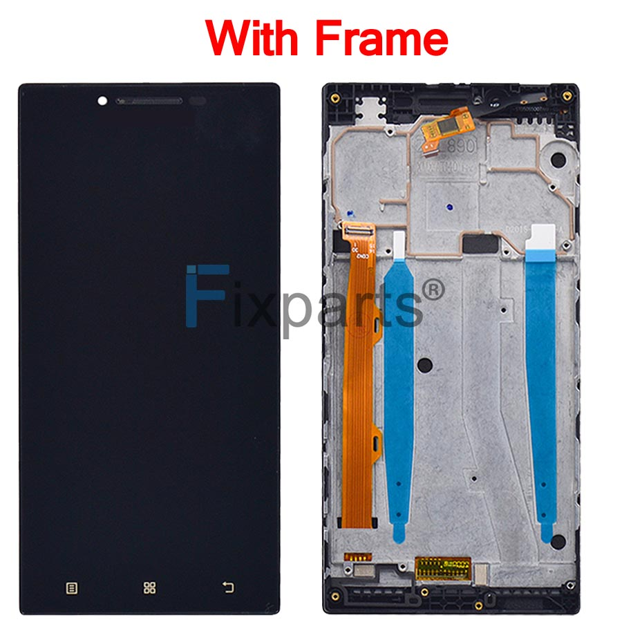 Original New Lenovo P70 LCD Display Touch Screen Digitizer Assembly P70 A P70 T Replacement Tools For 5 0 quot Lenovo P70 Display in Mobile Phone LCD Screens from Cellphones amp Telecommunications