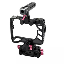 NEW A7R2 Rig A7S2 Kit Cage +Top Handle Baseplate for Sony A7R2 A7S2 camera 15mm Tilta Movcam