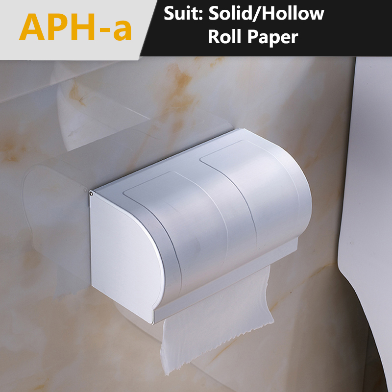 how to get mounted toilet paper holder off