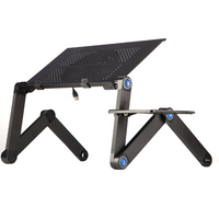 Portable Mobile Laptop Standing Desk For Bed Sofa Laptop Folding Table Notebook Desk With Mouse Pad For Bureau Meuble Office New