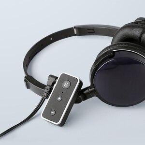 Image 4 - Rovtop Bluetooth 5.0 מקלט לרכב מוסיקת סטריאו 3.5mm AUX אודיו אלחוטי דיבורית מתאם עבור אוזניות רמקול עם מיקרופון z2