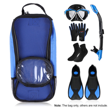 Diving Flipper Storage Holder Snorkelling Fins Packing Bag Diving Mask Bag Snorkel Storage Holder Snorkeling Surfing Diving Gear