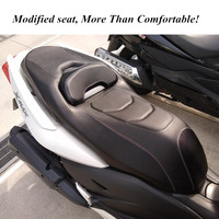 Modified Motorcycle xmax seat saddle flat pan seat for yamaha xmax 250 300 2017 2018