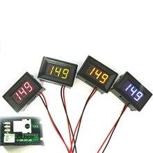 1 Шт. DC 0-30 В LED 2 Провода Цифровой Дисплей Напряжение Вольтметр Панель Двигателя Зеленый LKT
