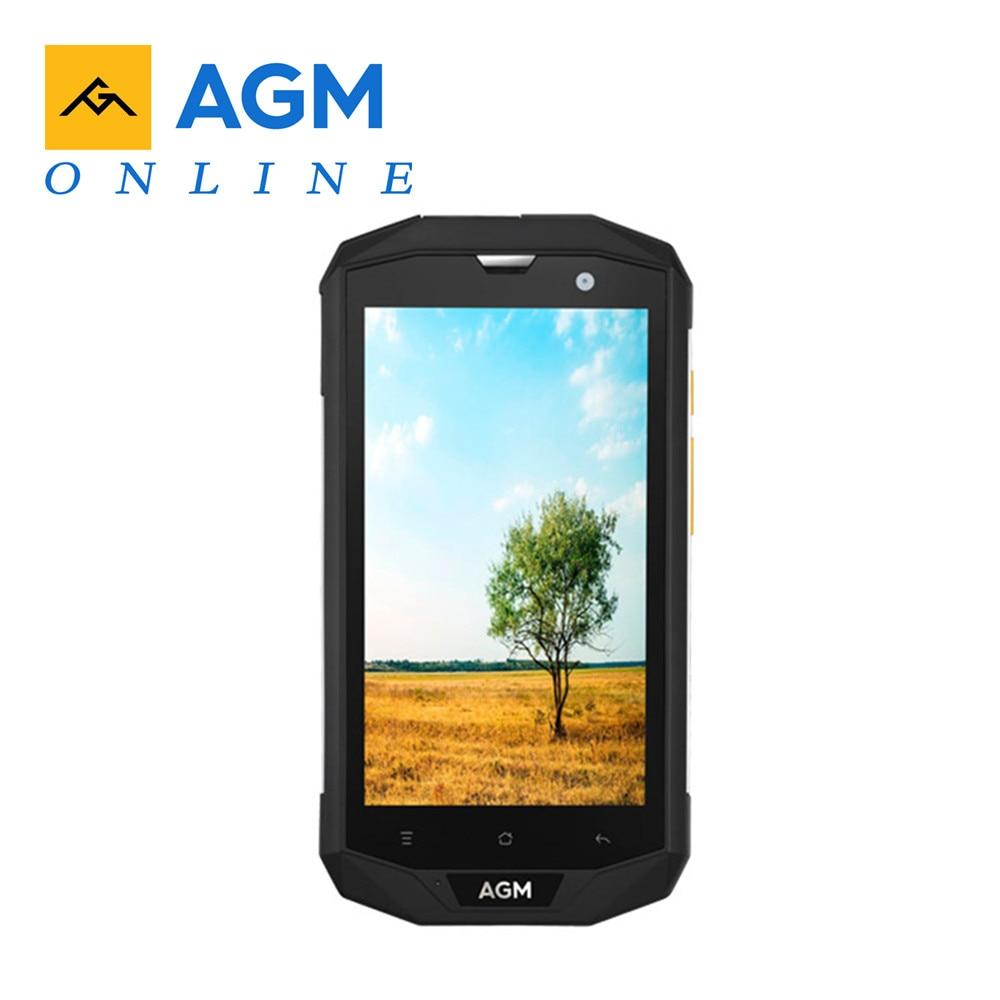 Original AGM A8 EU 5 0 HD IP68 4050mAh 4G Smartphone 4GB 64GB Waterproof Android 7