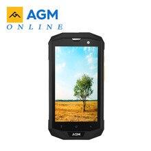 الأصلي AGM A8 الاتحاد الأوروبي 5.0 HD IP68 4050mAh 4G الهاتف الذكي 4GB + 64GB مقاوم للماء أندرويد 7.0 MSM8916 رباعية النواة الهاتف المحمول 13MP NFC