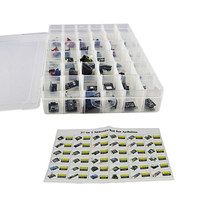 High Quality 37 In 1 Sensor Kit For Arduino Sensor Module Switch Flame Temperature Color LED