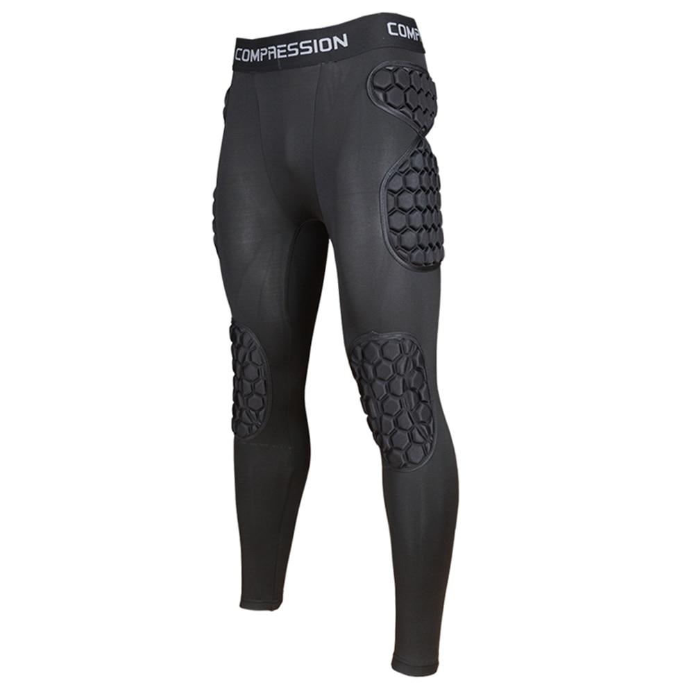 New Football Soccer Goalkeeper Training Pants Goalie Jerseys Kit Clothing Knee Elbow Padded All-round Alveolate Protector Gear