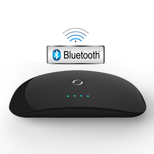 20PCS/LOT 2 in 1 Wireless Bluetooth Audio Transmitter Receiver A2DP Bluetooth Music Adapter Portable Audio Player Aux 3.5mm