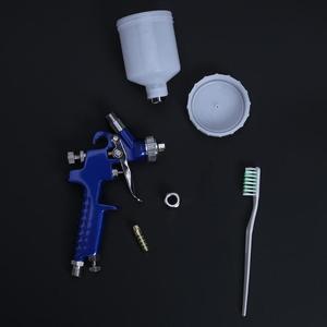 Image 4 - Professional 0.8MM/1.0MM Nozzle H 2000 Mini Air Paint Spray Gun Airbrush HVLP Spray Gun for Painting Car Aerograph Airbrush