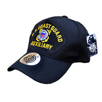Outdoor Rmilitary U S Army COAST GUARD AUXILIARY Cap Tactical Baseball Golf Cap For Man And