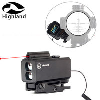 Hunting 5 700M Mini Laser Rangefinders Rifle Scope Sight with 20mm Picatinny Weaver Rail Mount